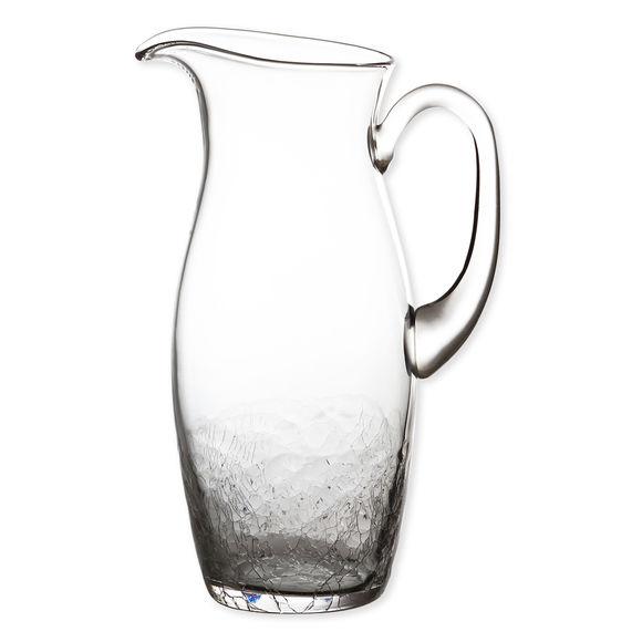 Pichet à anse en verre soufflé bouche 1,5L