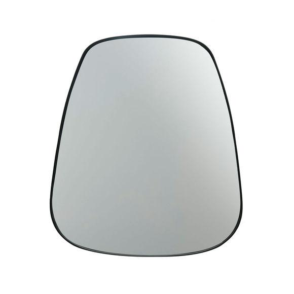 Miroir trapèze couleur noir 40x49cm