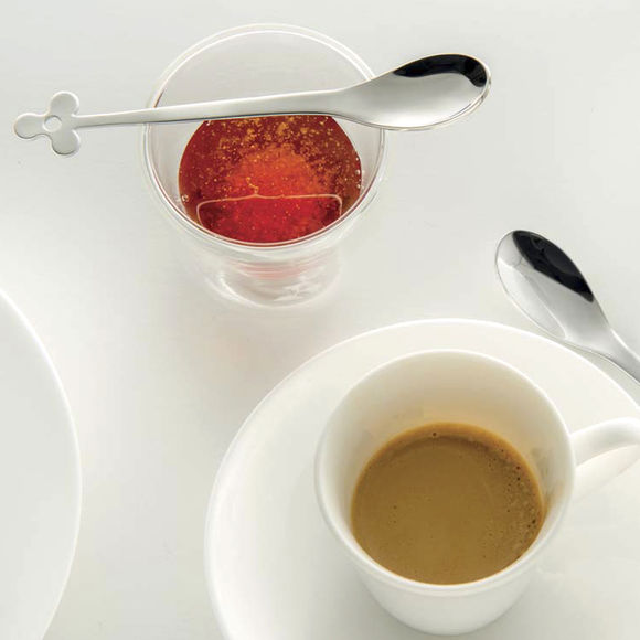 petites cuill res caf design en inox vaisselle chic. Black Bedroom Furniture Sets. Home Design Ideas