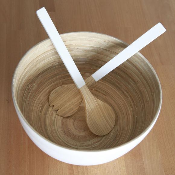 saladier en bambou design vaisselle tendance et chic bruno evrard. Black Bedroom Furniture Sets. Home Design Ideas