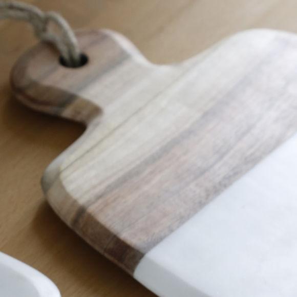 planche d couper en marbre et bois vaisselle design. Black Bedroom Furniture Sets. Home Design Ideas