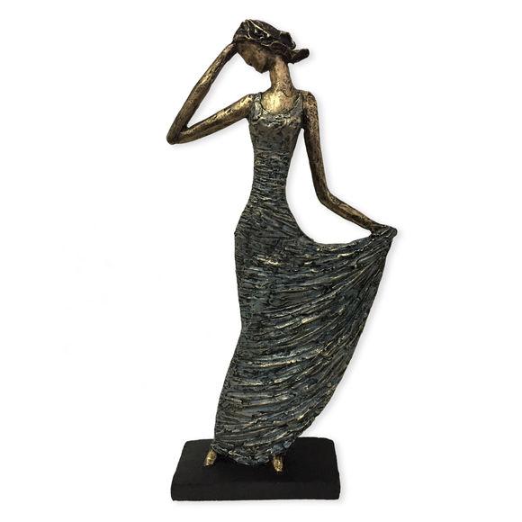 Statuette en résine 37cm