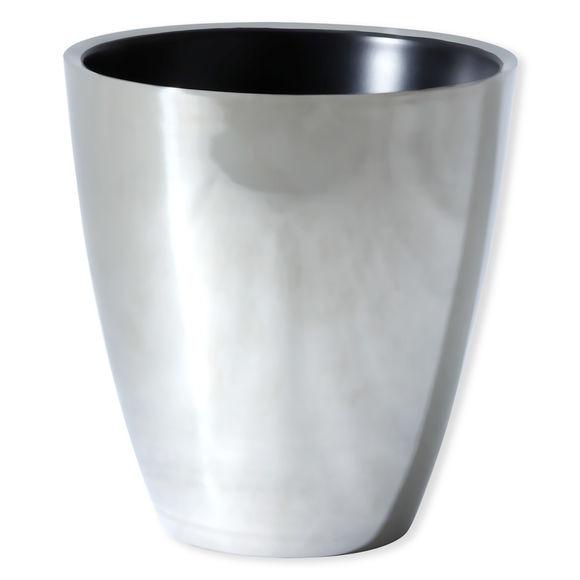 Seau à champagne en métal noir 19cm