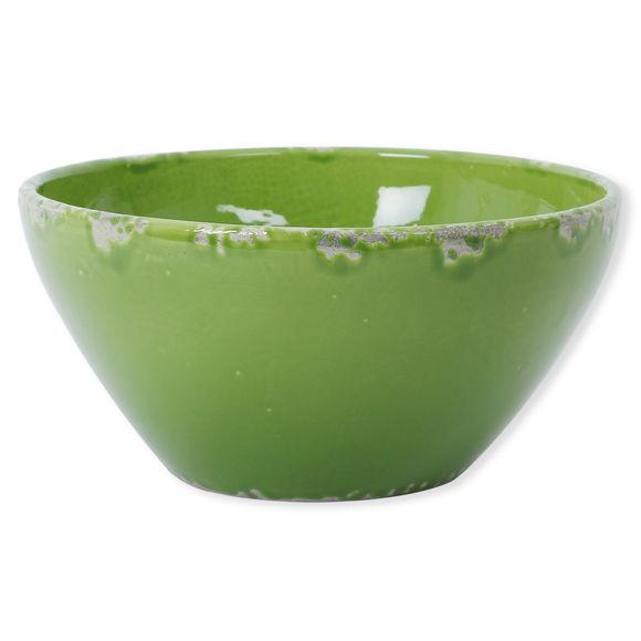Saladier vert en céramique 30cm