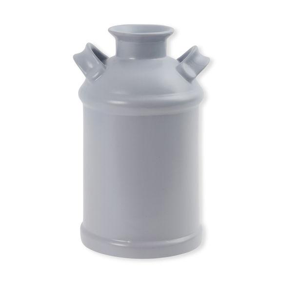 Vase gris clair en céramique 26cm
