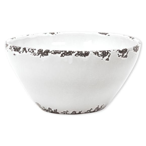 Saladier blanc en céramique 30,5cm