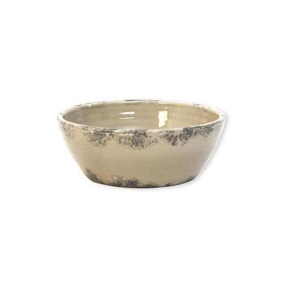 Saladier beige en céramique 20cm