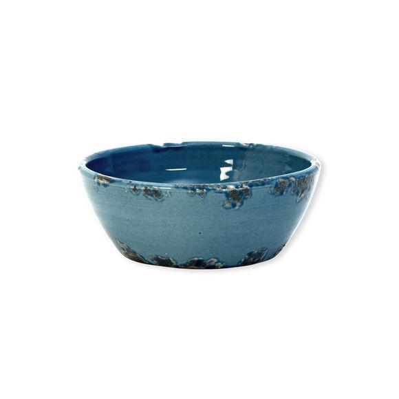 Saladier bleu en céramique 20cm