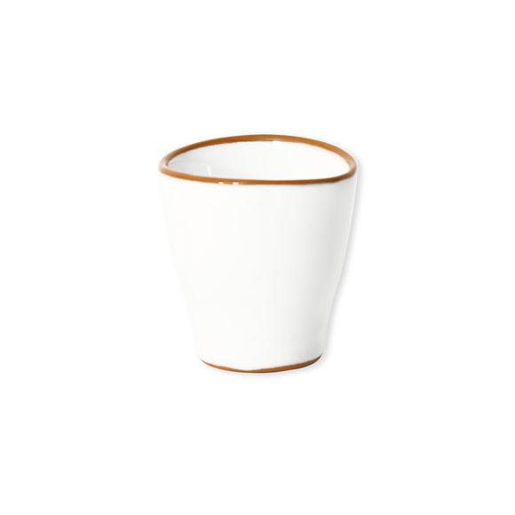 Tasse à expresso blanc en céramique 8cl