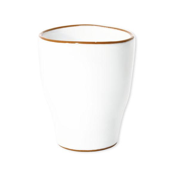 Tasse à thé blanc en céramique 30cl