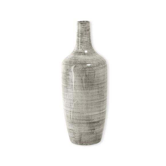 Vase ethnique en céramique 44cm