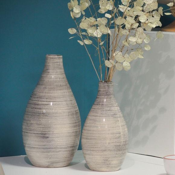 vase contemporain c ramique vases d co bruno evrard. Black Bedroom Furniture Sets. Home Design Ideas