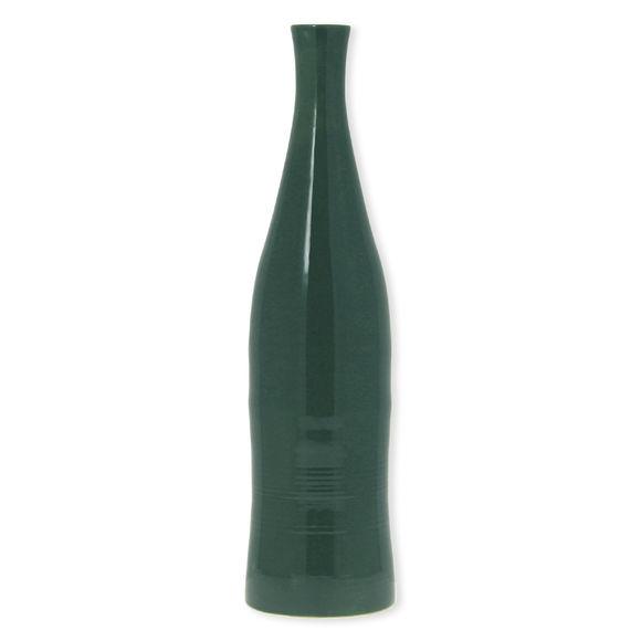 Vase vert en céramique 47cm