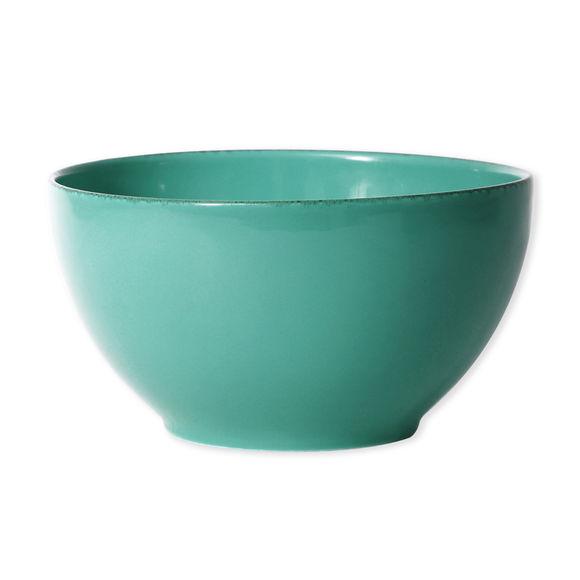 Saladier en grès bleu turquoise 24cm