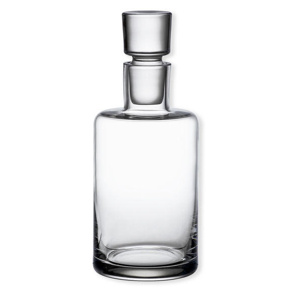 Carafe à whisky en verre soufflé bouche 0,8L