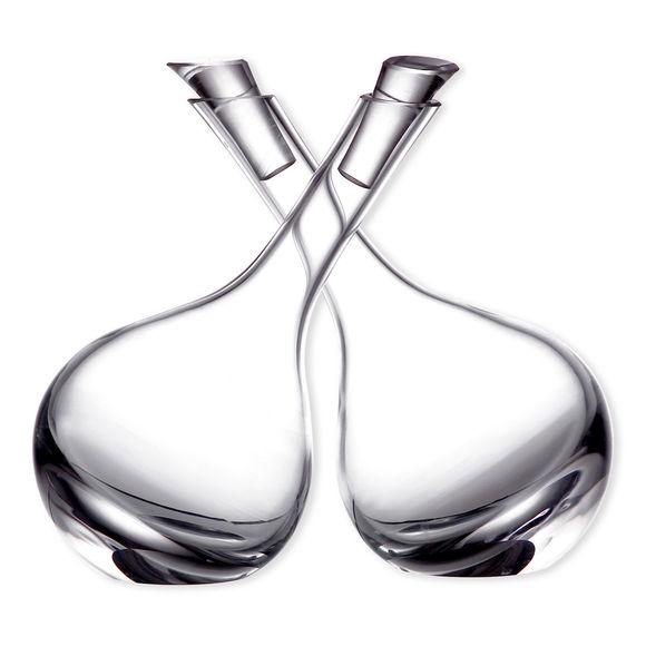 Huilier et Vinaigrier en verre soufflé bouche 15cl