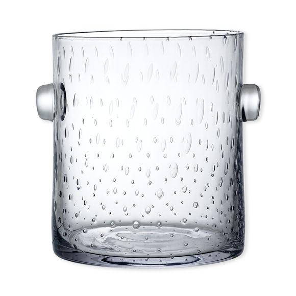 Seau à champagne en verre soufflé bouche 23cm