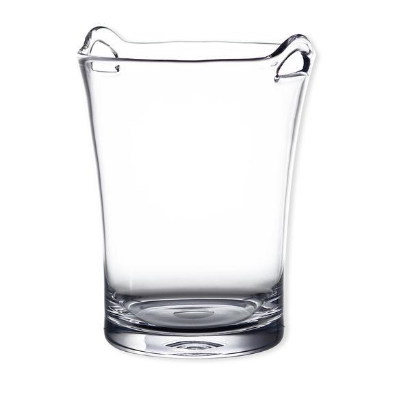 Seau à champagne en verre soufflé bouche 26cm
