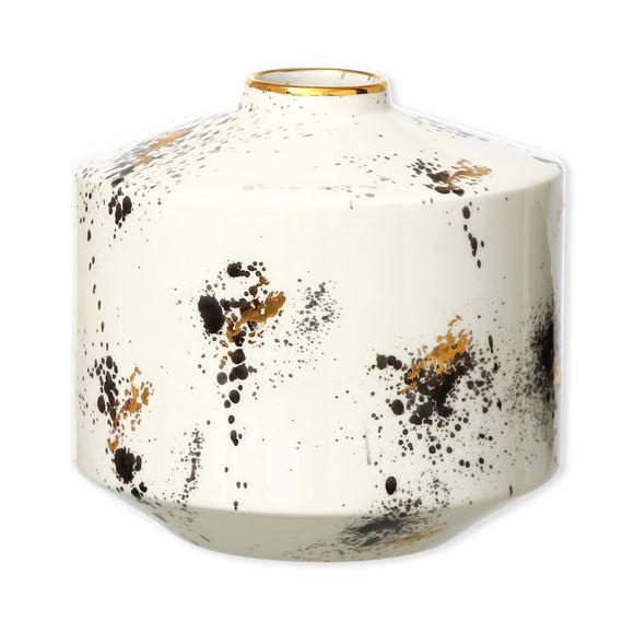 Vase moucheté en céramique 19cm