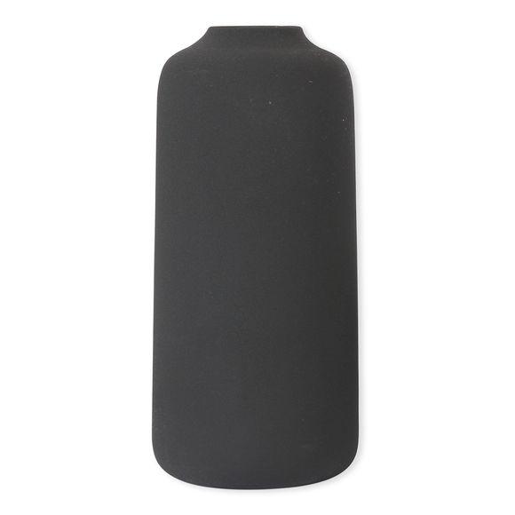 Vase gris en céramique 28cm