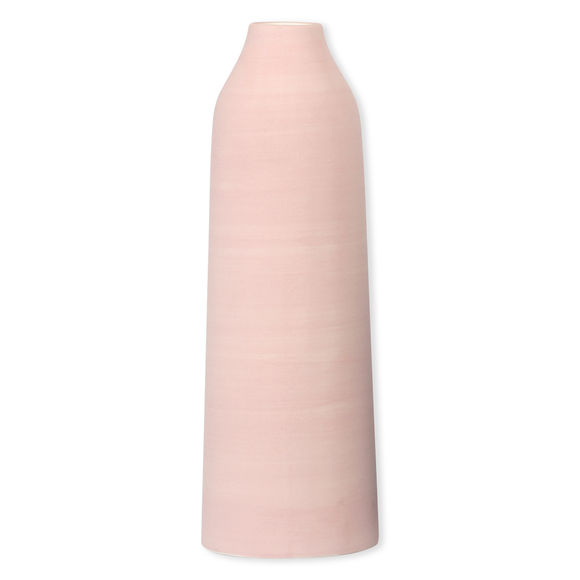 Vase rose en céramique 28cm