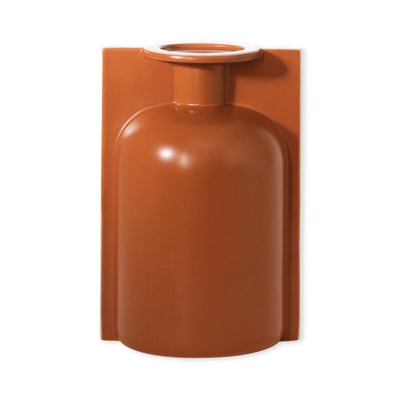 Vase rouille en céramique 25cm