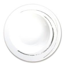 Assiette creuse en porcelaine 23cm