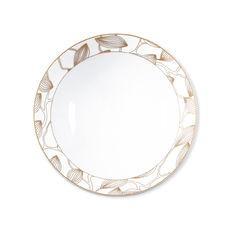Assiette creuse en porcelaine 19cm