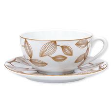 Tasse déjeuner en porcelaine 34cl - Coffret de 2