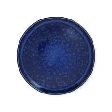 Assiette dessert bleue en grès 20cm