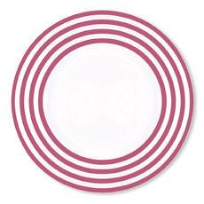 Assiette plate violet en porcelaine 29cm