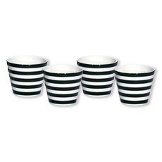 Gobelet expresso noir en porcelaine 10cl