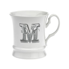 Mug en porcelaine 30cl - Lettre M