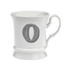 Mug en porcelaine 30cl - Lettre O