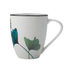 Mug en porcelaine décor fleurs 50cl