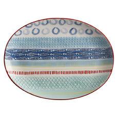 Plat ovale en céramique 40x30cm