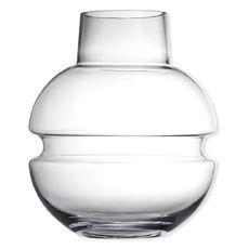 Vase en verre soufflé bouche 33cm
