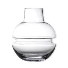 Vase en verre soufflé bouche 25cm