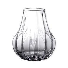 Vase en verre façon origami 26cm