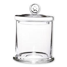 Bocal avec couvercle en verre 21cm