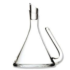 Carafe à décanter en verre soufflé bouche 1,2L