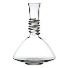 Carafe à décanter en verre soufflé bouche 1,5L