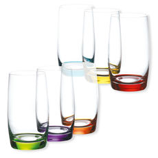 Gobelets hauts couleurs assorties 38cl - Lot de 6
