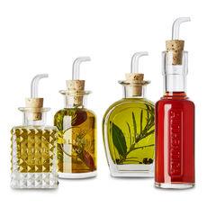 Set huile et vinaigre en verre