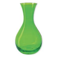 Carafe à jus de fruits en verre vert 1,2L