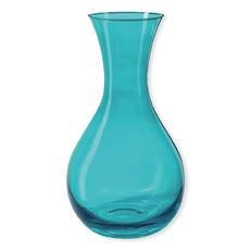 Carafon en verre bleu 1,2L