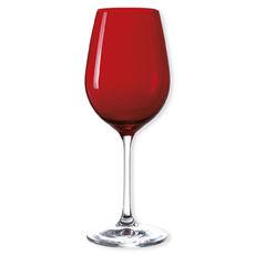 Verre à vin en verre rouge 35cl