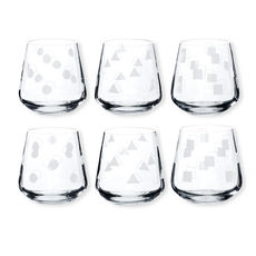 Gobelets bas motifs assortis 29cl - Lot de 6