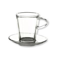 Tasse à café en verre 22cl