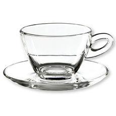 Tasse à cappuccino en verre 30cl